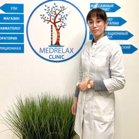 Врачи клиники: Меликова Мехри Юнисовна